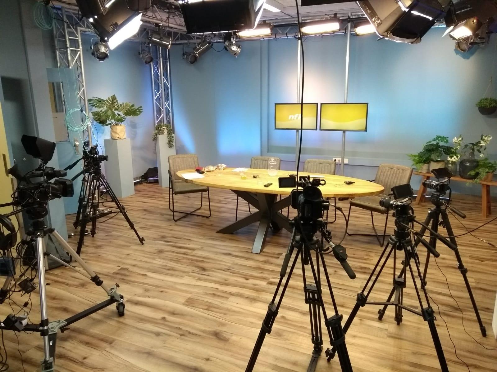 Opnames vanuit onze studio